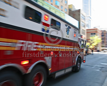 FDNY Rescue Co 1 - 530 West 43rd Street - Manhattan, NYC