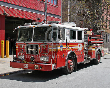 FDNY Engine Co.59 - 111 West 133rd Street, Harlem (Manhattan) - NYC