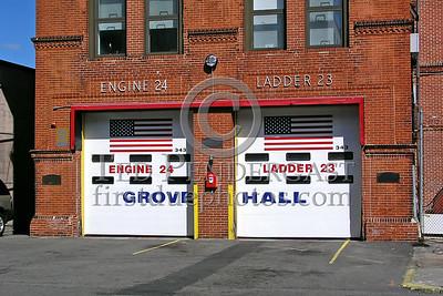Boston, MA - Engine 24 And Ladder 23 - 36 Washington St., Grove Hall, Dorchester