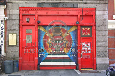 FDNY - Squad Co. 18 - 132 W.10th St. - Greenwich Village (West Village) - NOTE: Former Home Of Guardian Engine 29, Built in 1863