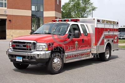 East Hartford CT Squad 4 - 2002 Ford F450 / Northeast Fire Equipment - Former Medic1