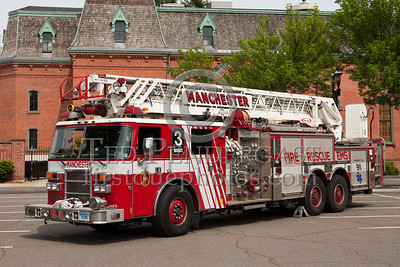 Manchester CT - Quint Co.3 - 1999 Pierce Dash 105-foot rearmount  1500/500