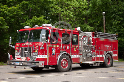 Simsbury CT - Engine Co.16 - 1994 E-One Cyclone 1500/1000/75AFFF/25 Class A