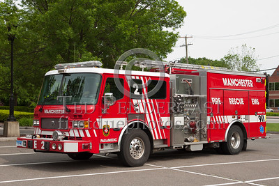 Manchester CT - Engine Co.2 - 2006 American LaFrance 1500/750/20