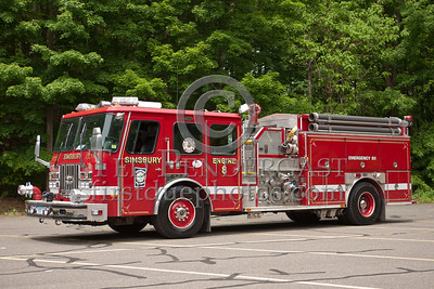 Simsbury CT - Engine Co.8 - 1994 E-One Cyclone 1500/1000/150 foam w/bumper turret