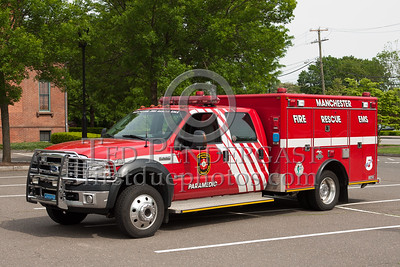 Manchester CT - Medic 5 - Ford F550/Amercian LaFrance