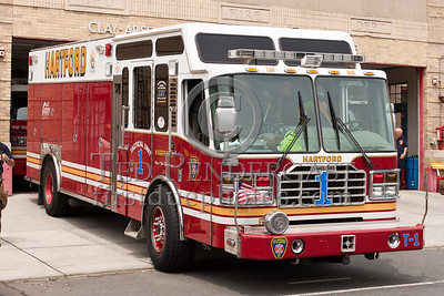 Hartford CT - Tactical Unit 1 - 2005 Ferrara Inferno heavy rescue