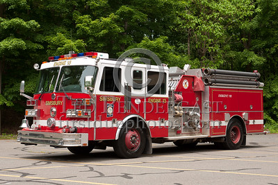 Simsbury CT - Engine Co.13 - 1985/1999 Sutphen Refurb 1250/1000