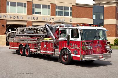 East Hartford CT L3 - 1989 Sutphen 95ft Tower 1500/300 (former Tower 1)