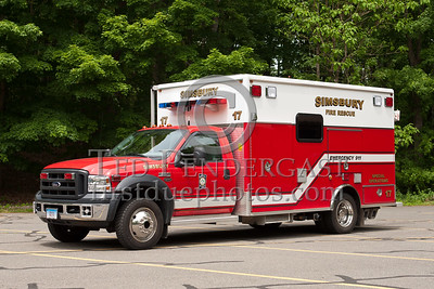 Simsbury CT - S-17 Command Post - 2005 Ford F550/EVI