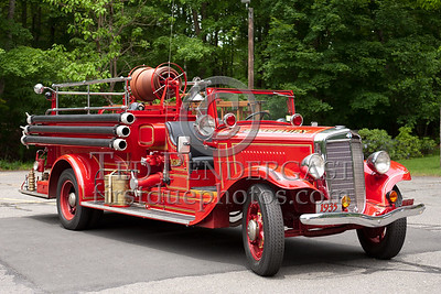 Simsbury CT - Engine Co.1 - 1935 International/American LaFrance 500/150
