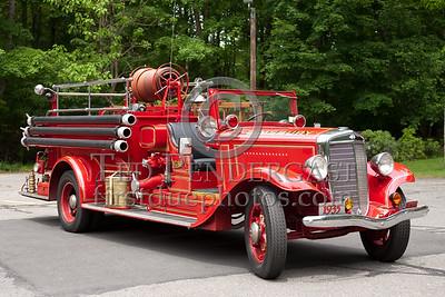 Simsbury CT - Engine Co.1 - 1935 International/American LaFrance 500/150