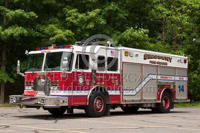 Simsbury CT - Rescue Co.14 - 2002 KME heavy rescue