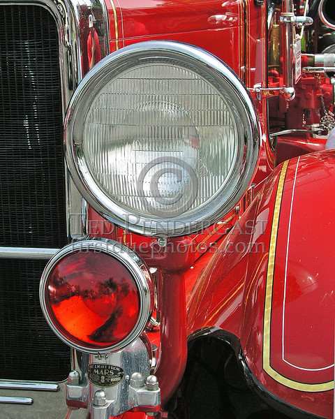 Antique Engine Mars Light