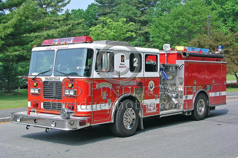 "Wakefield,MA Engine Co.2 ""Pride Of Greenwood"""