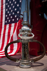 Flag & Tip - Former Easton MA Engine Co.2 - 1931 Mack. Photo Taken At The 2009 Lynnfield MA SPAAMFA Muster