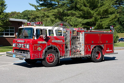 Lynnfield MA Engine Co.4 - 1984 Ford/E-One 1000gpm/500gal. Photo Taken At The 2009 Lynnfield MA SPAAMFA Muster