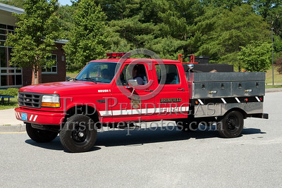 Brimfield MA Brush 1 - 1994 Ford F-350 / 2008 Dept-built body 250gpm/300gal/10gal Foam. Photo Taken At The 2009 Lynnfield MA SPAAMFA Muster