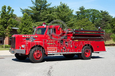 Former Wareham MA Forest Fire And Out Of District Dept Engine Co.2 - 1961 Model-S 2627C 750gpm/500gal. Photo Taken At The 2009 Lynnfield MA SPAAMFA Muster