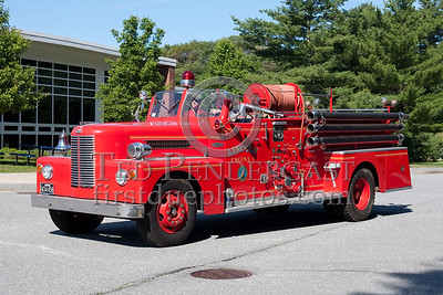 Former Lincoln MA Engine Co.1 - 1957 Pirsch. Photo Taken At The 2009 Lynnfield MA SPAAMFA Muster