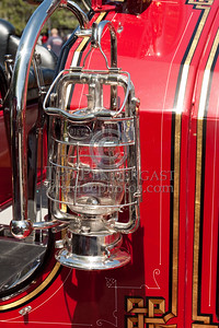 Lantern, Officer's Side - Former Marion MA Engine Co.1 - 1926 Maxim Pumper. Photo Taken At The 2009 Lynnfield MA SPAAMFA Muster