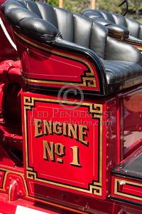 Details, Officer's Side - Former Marion MA Engine Co.1 - 1926 Maxim Pumper. Photo Taken At The 2009 Lynnfield MA SPAAMFA Muster