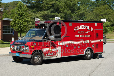 Somerville MA Auxiliary Squad No.1 - Ford Support Unit (former ambulance). Photo Taken At The 2009 Lynnfield MA SPAAMFA Muster