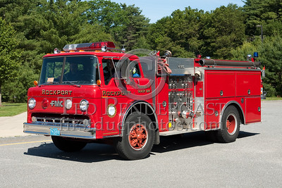 Rockport MA Engine Co.3 - 1986 Ford C/FMC 1000gpm/750gal. Photo Taken At The 2009 Lynnfield MA SPAAMFA Muster
