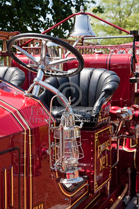 Details, Driver's Side - Former Marion MA Engine Co.1 - 1926 Maxim Pumper. Photo Taken At The 2009 Lynnfield MA SPAAMFA Muster