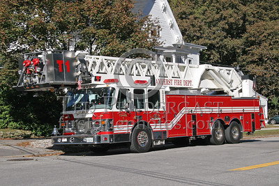 Amherst NH Tower Ladder 1