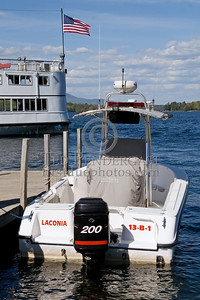 Laconia,NH 13-Boat-1, 2005 Outboard equipped with Radar/Sonar - Box 52 Association Bus Trip to Southern NH with visits to the NH State Fire Academy in Concord NH and the Laconia NH Fire Dept.