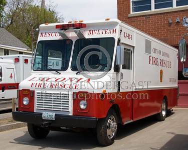 Laconia,NH 13-Rescue-1, 1986 GMC Dive Unit - Box 52 Association Bus Trip to Southern NH with visits to the NH State Fire Academy in Concord NH and the Laconia NH Fire Dept.