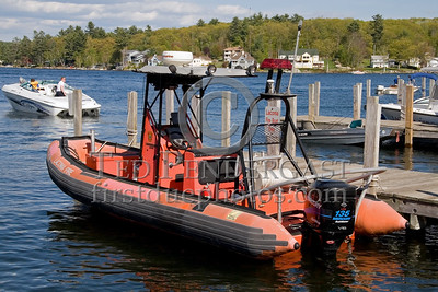 Laconia,NH 13-Boat-2, 2001 Rigged-Hull Inflatable - Box 52 Association Bus Trip to Southern NH with visits to the NH State Fire Academy in Concord NH and the Laconia NH Fire Dept.