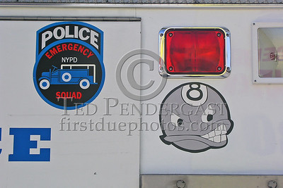 NYPD ESU Truck 8 - Side Detail