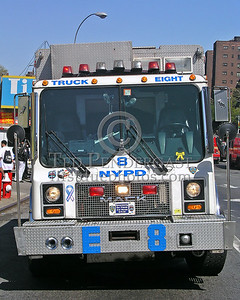 NYPD ESU Truck 8 - Front