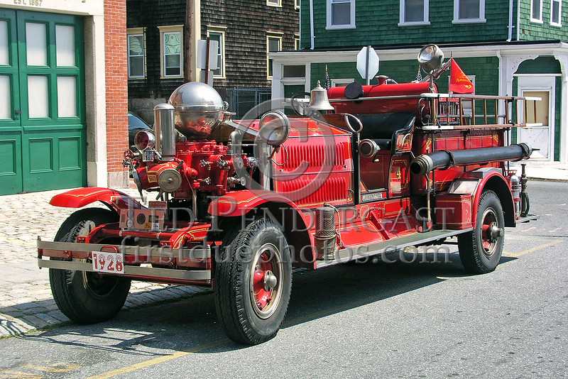 New Bedford,MA Former Engine Co. 4 - 1928 Ahrens Fox Pumper assigned to the New Bedford Fire Museum