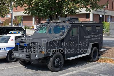 Manchester NH Police Dept - SRT (Special Reaction Team) / SWAT
