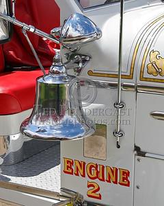 River Edge NJ Company No.2 - Engine Co 2 - Bell And Spotlight