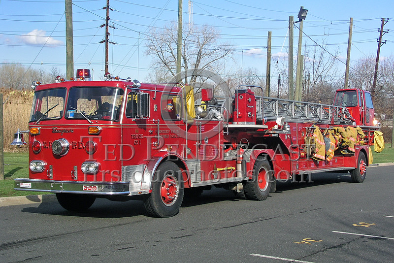 Ridgefield Park,NJ Friendship Hook And Ladder Truck Co. 1