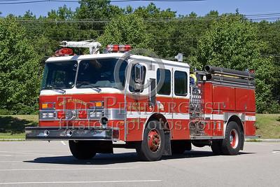 North Attleboro, MA - Foam Engine (Spare) - IFBA National Convention (NEFCON '07) - Boston to Providence Bus Trip