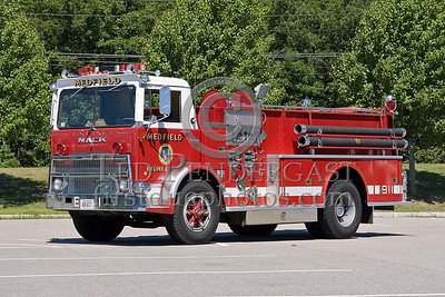 Medfield, MA - Engine Co 1 (former) - IFBA National Convention (NEFCON '07) - Boston to Providence Bus Trip