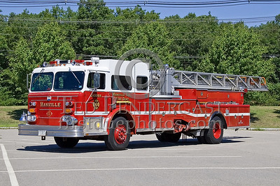 Lincoln, RI - Manville Volunteer Fire Dept - Ladder Co 1 - IFBA National Convention (NEFCON '07) - Boston to Providence Bus Trip