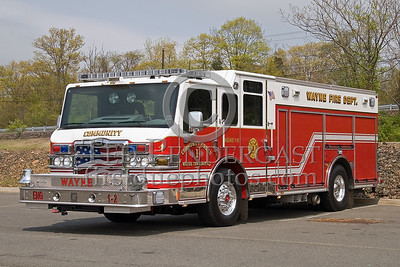 Wayne Township,NJ Community Fire Co. No.1 - 2008 Pierce Rescue Pumper