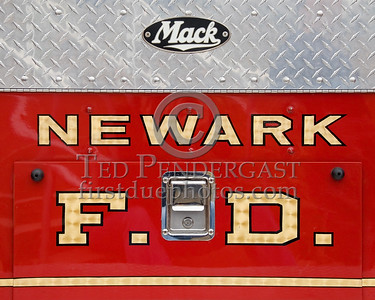 Restored Mack B-Model Open Cab Pumper formerly serving the City Of Newark NJ as Engine Co.4