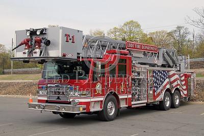 Lodi,NJ Truck Co. 1 - Rearmount Tower Ladder