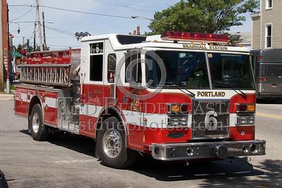 Portland, Maine - Engine Co 6 - NEFCON'07 Int'l Fire Buff Assoc. Bus Trip To Portland Maine
