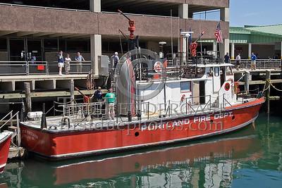 Portland, Maine - Marine Unit (Engine 7) -NEFCON'07 Int'l Fire Buff Assoc. Bus Trip To Portland Maine