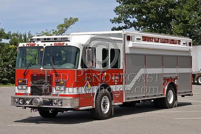 Cumberland County, Maine - Presumpscot Valley - HazMat Co 2 - NEFCON'07 Int'l Fire Buff Assoc. Bus Trip To Portland Maine