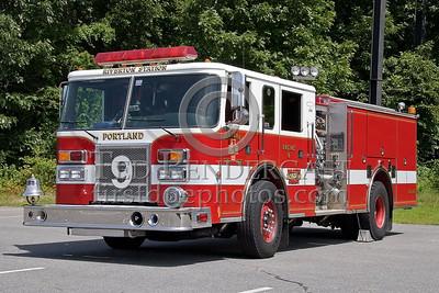Portland, Maine - Engine Co 9 - NEFCON'07 Int'l Fire Buff Assoc. Bus Trip To Portland Maine