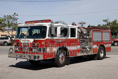 Portland, Maine - Engine Co 5 - NEFCON'07 Int'l Fire Buff Assoc. Bus Trip To Portland Maine